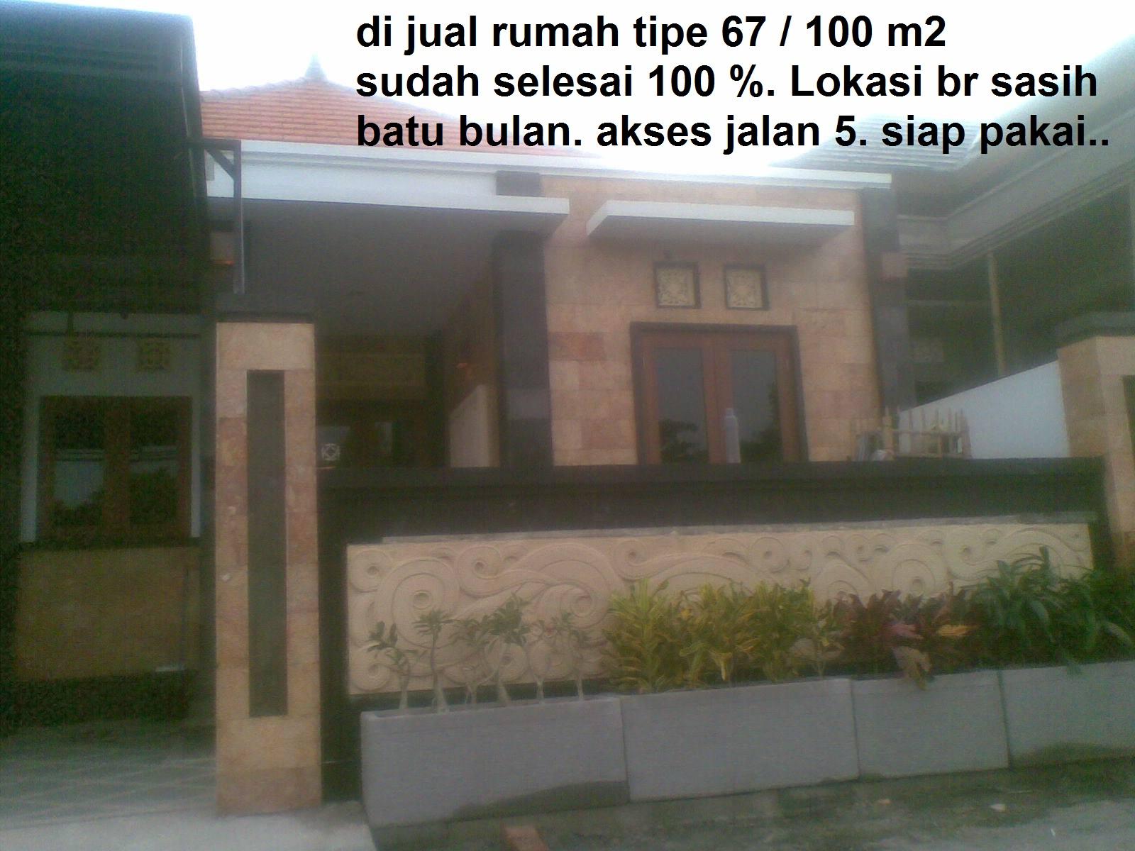 property bali13 di jual rumah tipe 67 100 m2 sudah