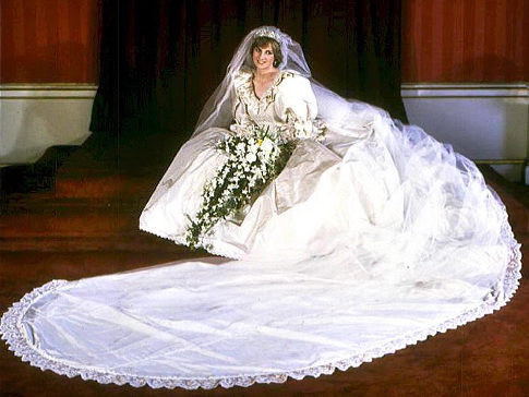 princess diana wedding. princess diana wedding dress