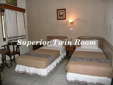 Mataram Hotel Superior Twin Penginapan Murah Dekat Malioboro Yogyakarta