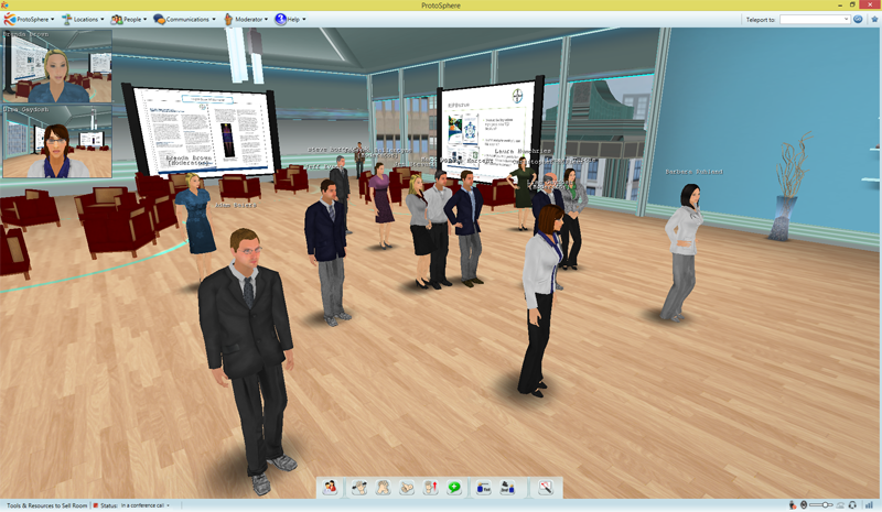 ProtoSphere for Virtual Instructor Led Training (VILT)
