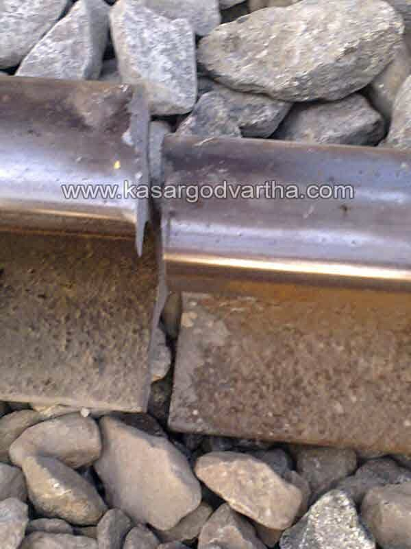 Train, Late, Manjeshwaram, Kasaragod, Kerala, Railway Track, Gap found in railway track.