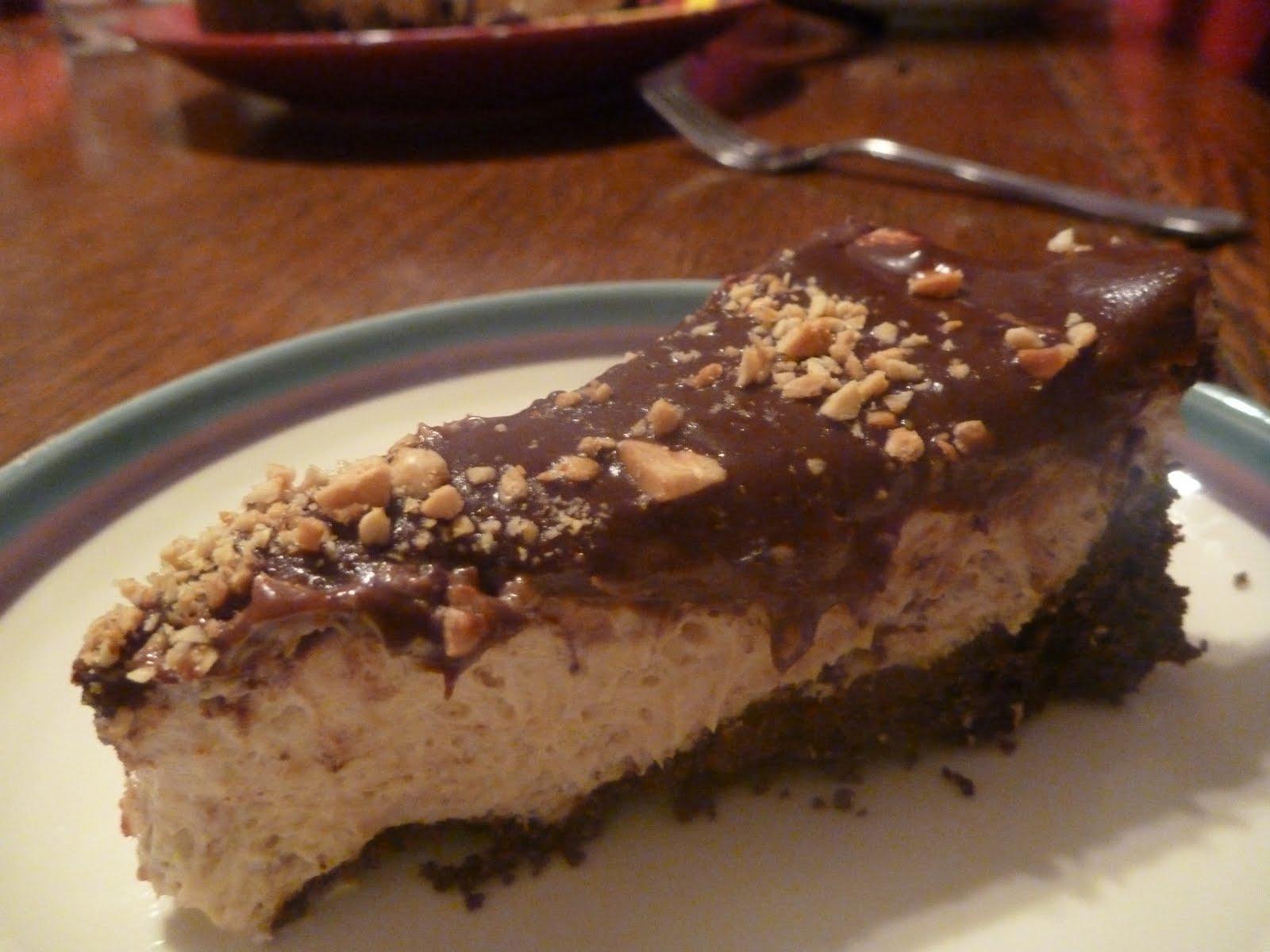 Double Chocolate Peanut Butter Pie