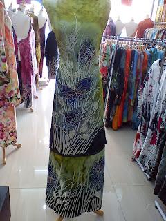 Batik Sutera Crepe Tampal Butterfly 1