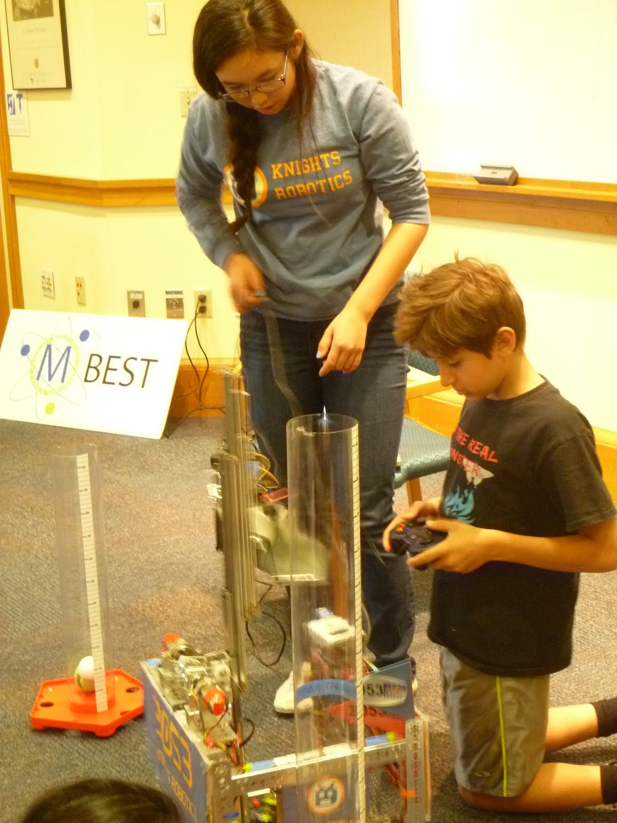 Fun with Robots, Science and Math - created by Youth for Literacy and the Council
