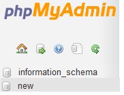 create database in mysql using php at phponwebsites