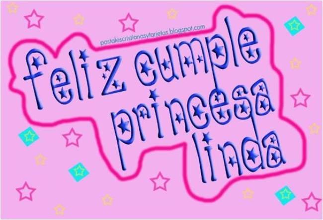 Postal Feliz Cumpleaños Princesa | Postales Cristianas y Tarjetas
