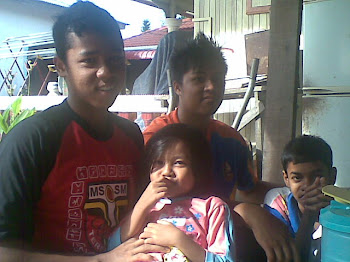 aq, adik and my cousin..