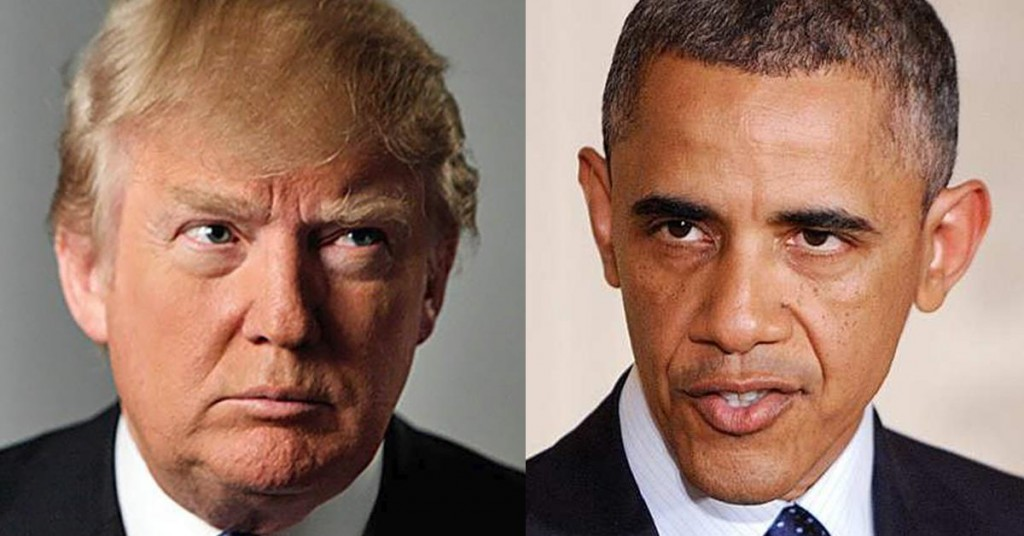 OBAMA IS THE REASON FOR THE SEASON OF TRUMP