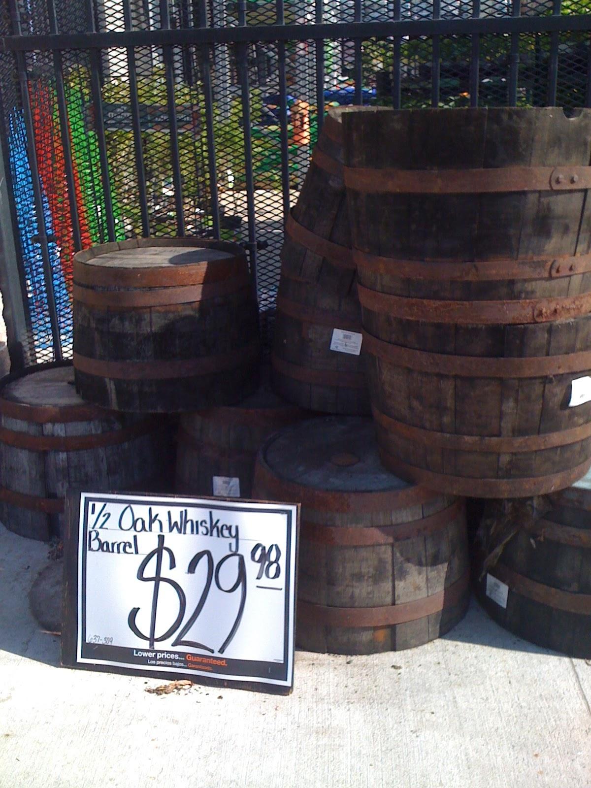 Richmond Thrifter Home Depot Whiskey