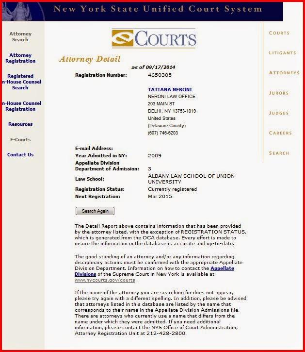 Attorney Registration