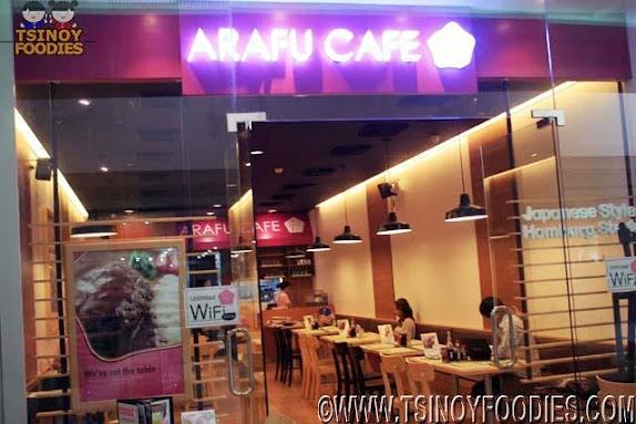 arafu cafe sm north edsa