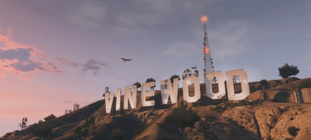 Grand Theft Auto V Vinewood