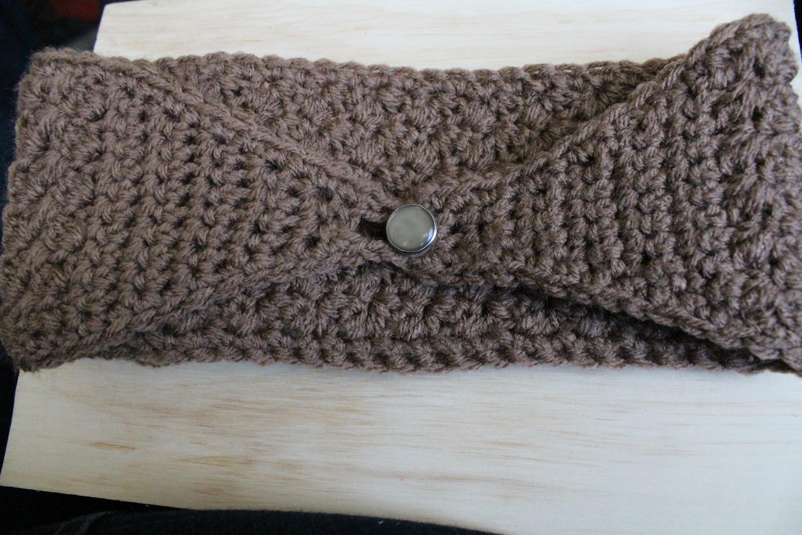 Crochet Ear Warmer Pattern With Button Closure ~ Pakbit for .