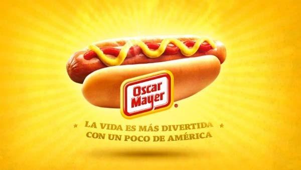 Oscar Mayer anuncios publicidad Todo es más divertido con un poco de América