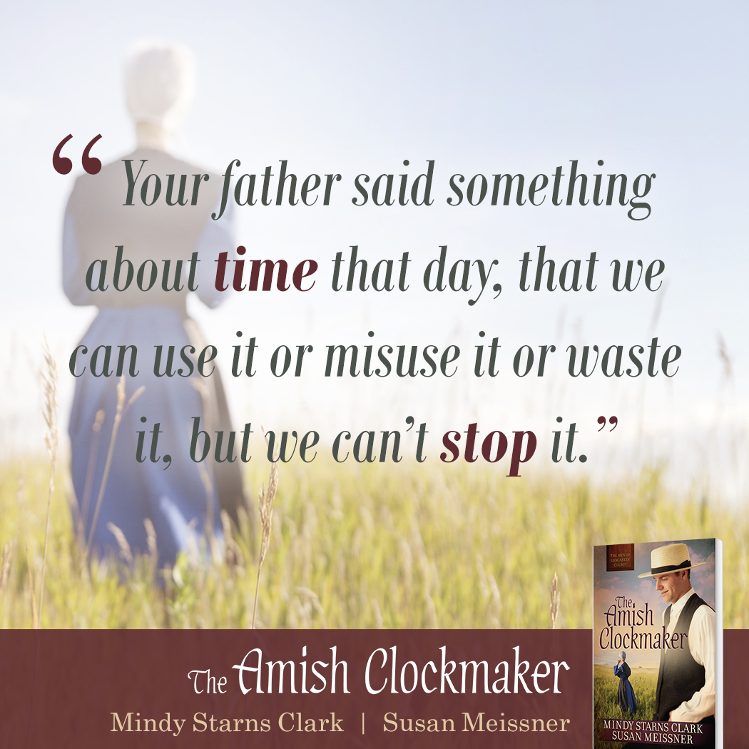 """Your father said something about time that day, that we can use it or misuse it or waste it but we can't stop it."""