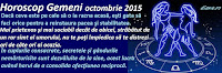 Horoscop Gemeni octombrie 2015