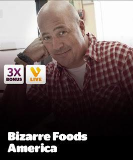 Bizarre Foods America, Viggle, Viggle Live, ViggleMom, Travel Channel
