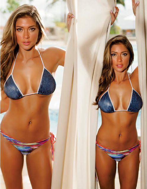 Arianny Celeste sexy bikini in FHM Philippines Magazine August 2015