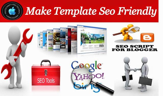 Make blog template SEO Friendly