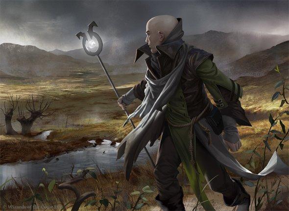 Johannes Voss algenpfleger deviantart ilustrações fantasia card games magic the gathering