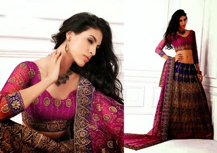 Schiffli-Embroidered-Ghagra-Choli-for-Weddings