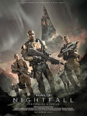 Poster Halo: Nightfall 2014