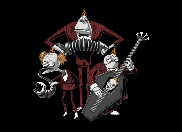 Super Punch: Nightmare Before Christmas t-shirts at Threadless