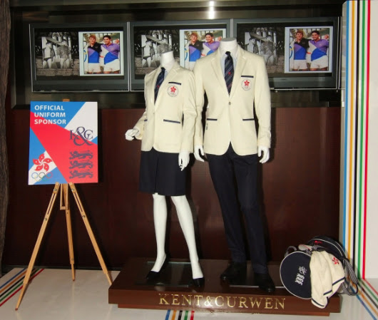 Hongkong uniform for london olympic by Kent & Curwen