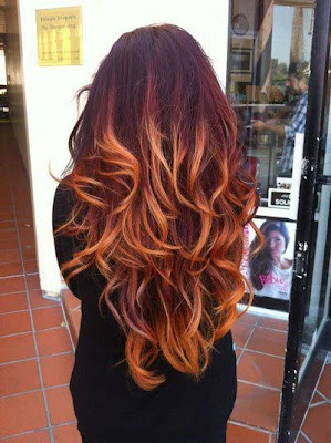 fashion y ombre hair trend 2013 colorfull and beautiful