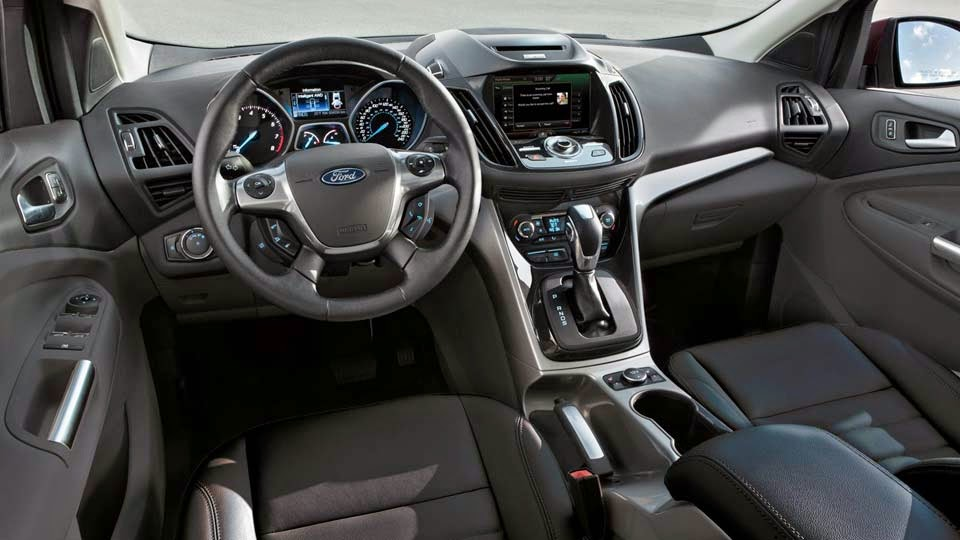 Ford 2014 Escape Titanium interior