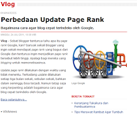 Perbedaan Update Pagerank Secara Minor dan Mayor | Khamardos BLog