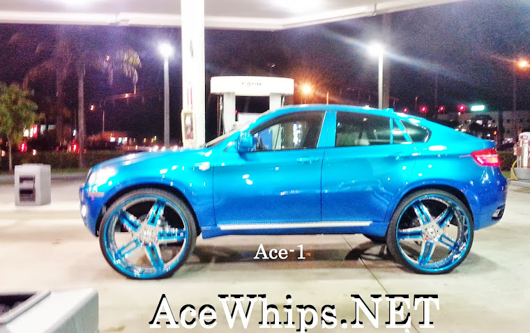 "Candy Teal BMW X6 on 30"" ASANTI"