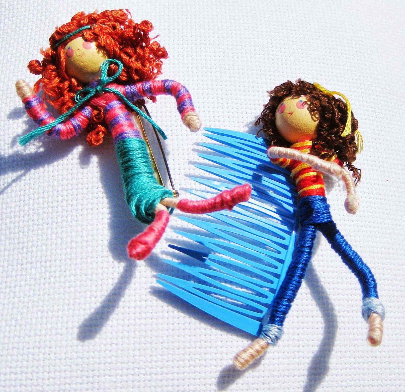 Killer Crafts & Crafty Killers: CRAFTS WITH ANASTASIA--NO SEW FLOSS ...