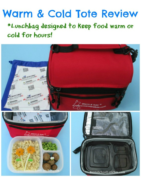 Warm & Tote Lunchbag Review. BentoSchoolLunches.com