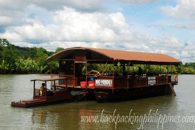 loboc loay river cruise floating restaurant bohol