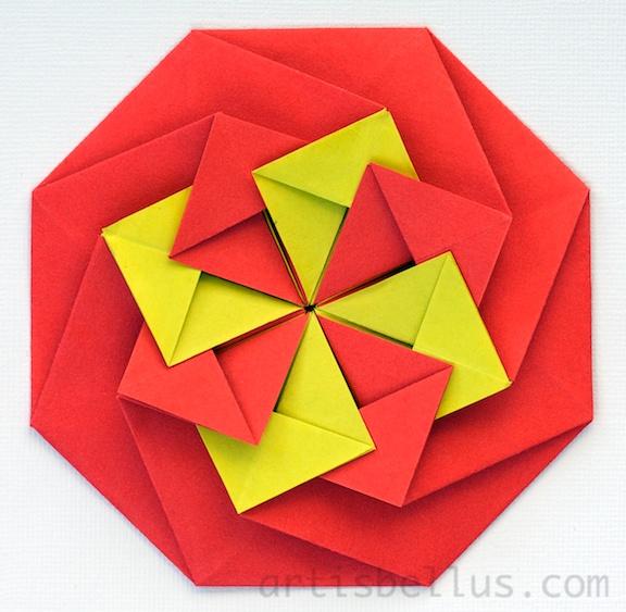 Origami artis bellus march 2013 origami tatos mightylinksfo