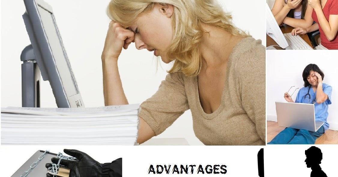 advantage and disadvantage computer