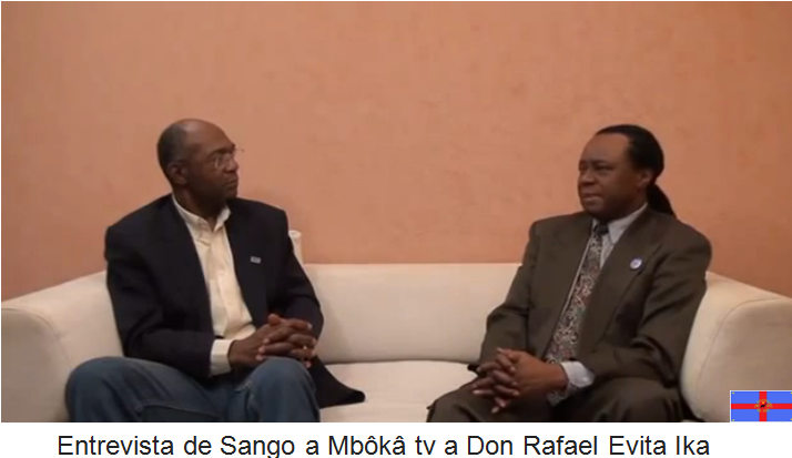 Guinea Ecuatorial: Entrevista de Sango a Mbôkâ tv a Don Rafael Evita Ika