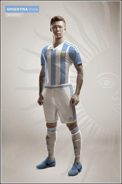 Argentina 2015 Home Kit
