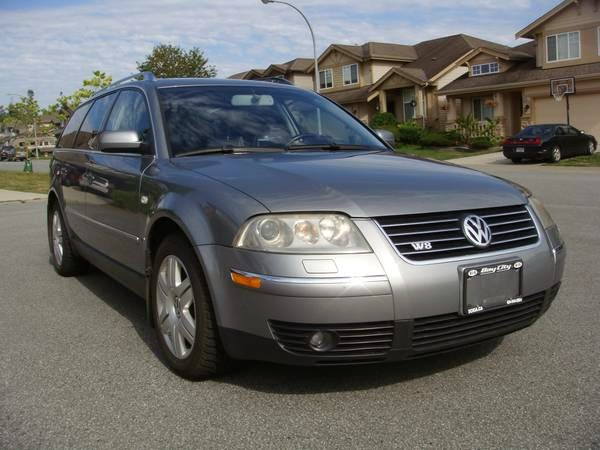 2003 volkswagen passat w8 wagon awd 4x4 cars. Black Bedroom Furniture Sets. Home Design Ideas