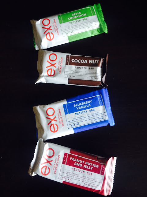 Exo Protein Bars with Cricket Flour