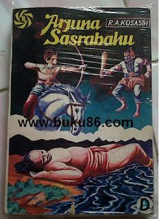 komik wayang Arjuna Sastrabahu RA Kosasih