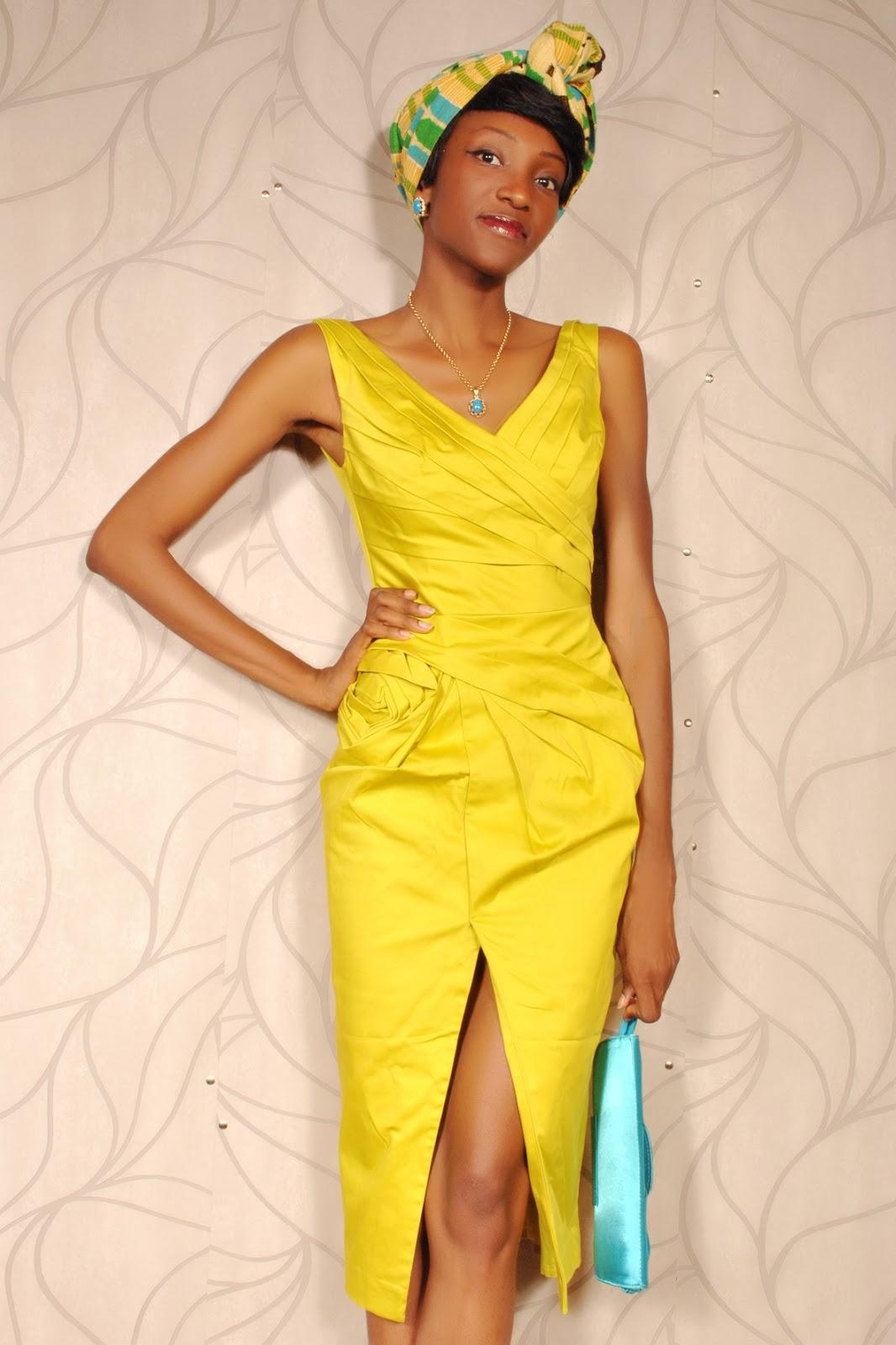 Princie golden palm kita for Couture de kita pagne