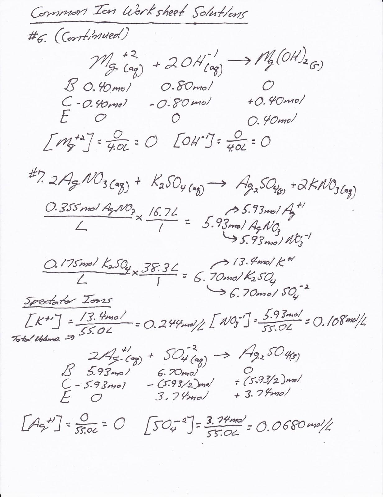 Mr Brueckner s AP Chemistry Blog 2016 17 mon Ion Worksheet