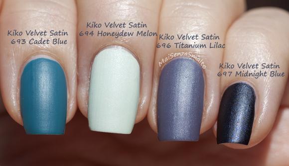 Kiko Velvet Satin Nail Lacquer