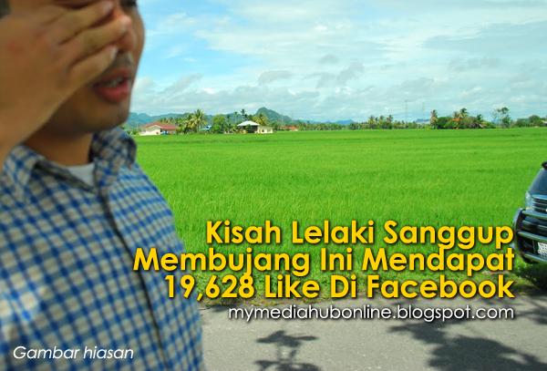 Bila Lelaki Sanggup Membujang Ini Mendapat 19 628 Like Di Facebook