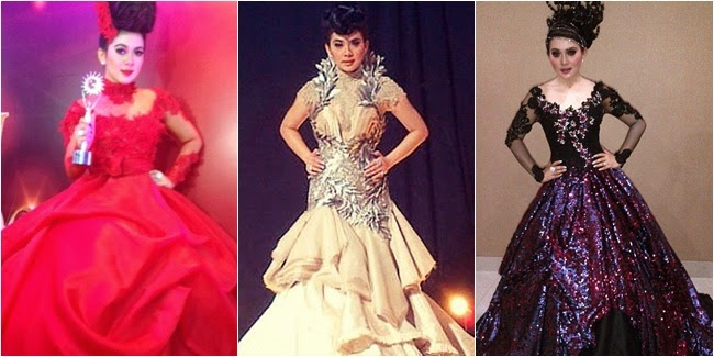 Foto Model Baju Kebaya Renda Syahrini
