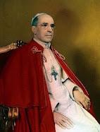 Papa Pío XII, reinó entre (1939-1958)