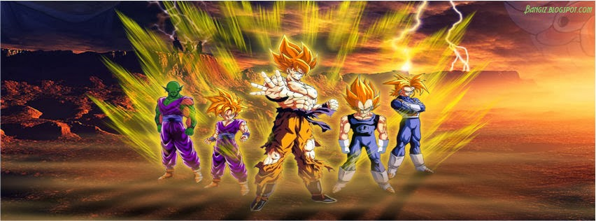 Foto Sampul Facebook Super Saiyan