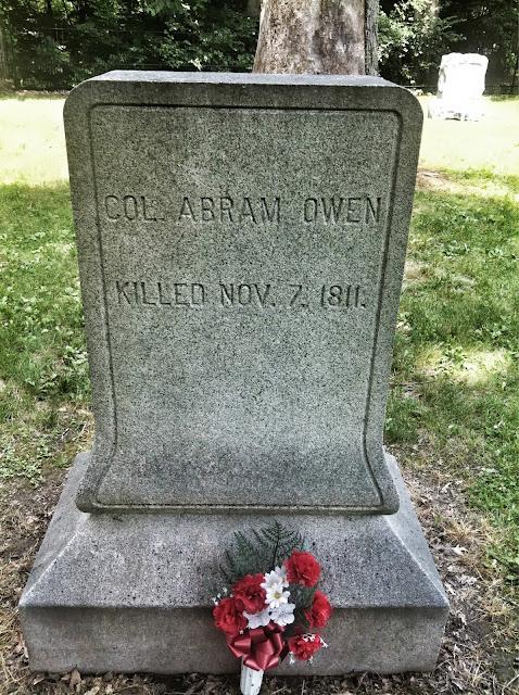 Tippecanoe Battlefield Grave